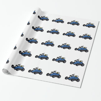 Non-Winged Sprint Car Wrapping Paper