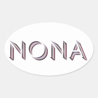 Nona sticker