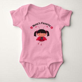 Nonas Favorite Girls Gift Baby Bodysuit