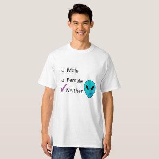 Nonbinary Alien Shirt