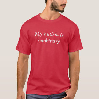 Nonbinary Autism T-Shirt