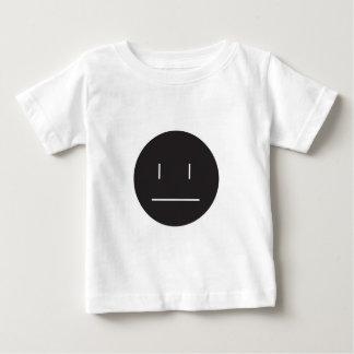 nonchalant face negative baby T-Shirt