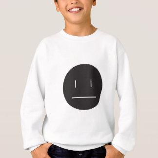 nonchalant face negative sweatshirt