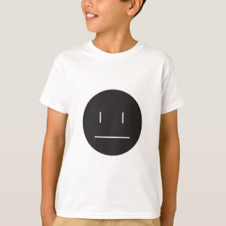 nonchalant face negative T-Shirt