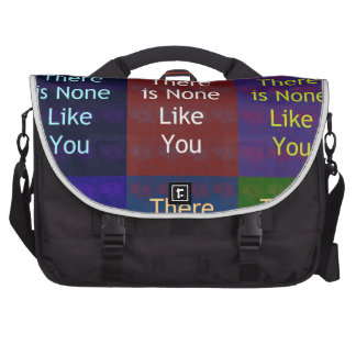 None Like You Commuter Bag