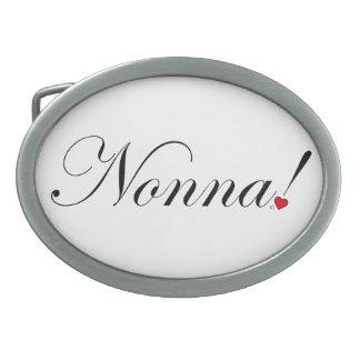 Nonna! Belt Buckle