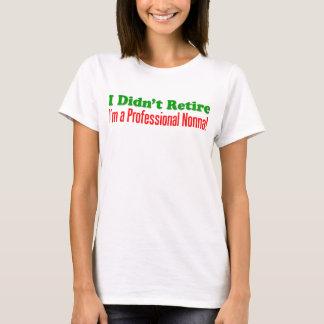 Nonna professionnel t-shirt