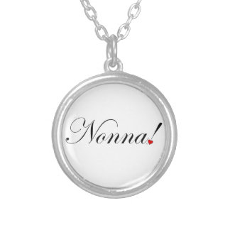 Nonna! Silver Plated Necklace