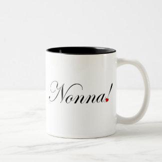 Nonna! Two-Tone Coffee Mug