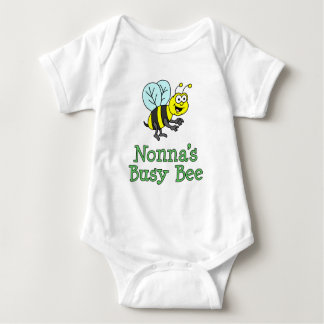 Nonna's Busy Bee Baby Bodysuit