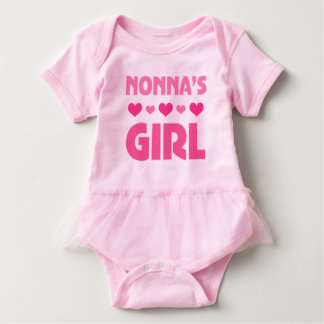 Nonna's Girl baby bear girls Tutu Tee
