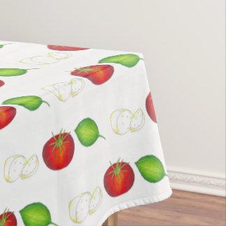 Nonna's Italian Kitchen Mozzarella Tomato Basil Tablecloth