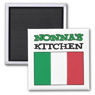 Nonna's Kitchen Italian Flag Magnet