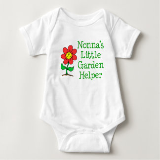 Nonna's Little Garden Helper Baby Bodysuit