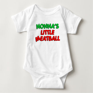 Nonna's Little Meatball Baby Bodysuit