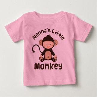 Nonnas Little Monkey Baby T-Shirt