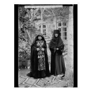 Nonne orthodoxe de schéma carte postale