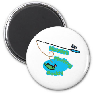 Nonnie's Fishing Buddy Magnet