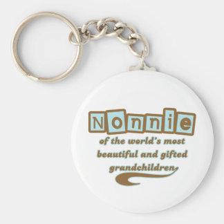 Nonnie of Gifted Grandchildren Keychain