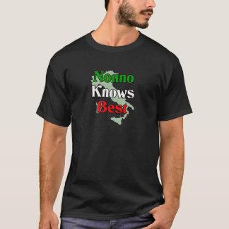 Nonno (Italian Grandfather) Knows Best T-Shirt