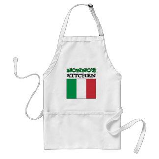 Nonno's Kitchen Italian Flag Standard Apron