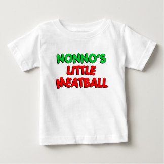 Nonno's Little Meatball Baby T-Shirt