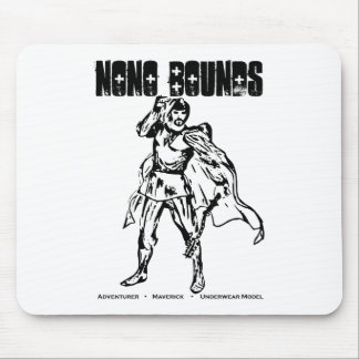 Nono Bounds Action Wear Mouse Pad