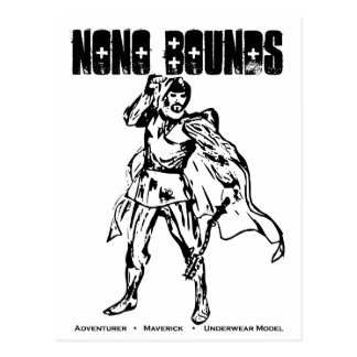 Nono Bounds Action Wear Postcard