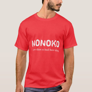NoNoKo.  Brilliant red edition. T-Shirt