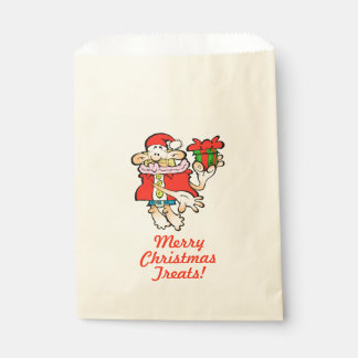 Nonsensical Santa Christmas Favour Treat Bag