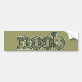 Noob Bumper Sticker