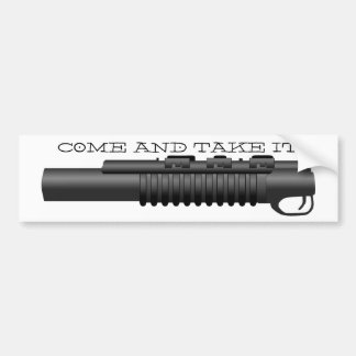 Noob - Come and Take It Bumper Sticker