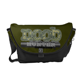 Noob Hunter with vector tube gun Commuter Bags