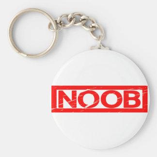 Noob Stamp Keychain
