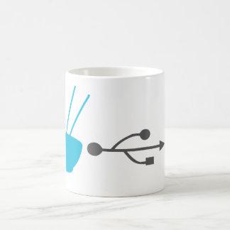Noodle Input efficiency system Basic White Mug