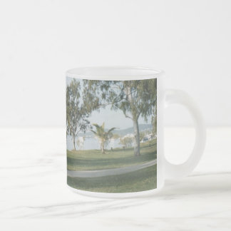 Noosa 10 Oz Frosted Glass Coffee Mug