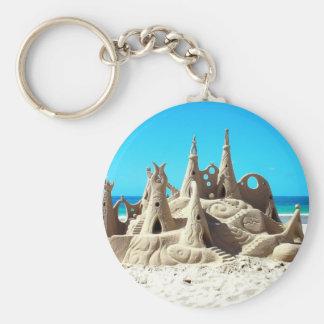 Noosa Beach Sandcastle Keychain