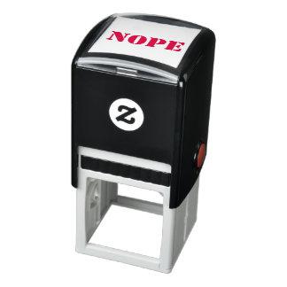 NOPE Stamp