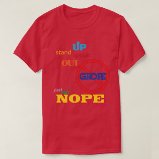 NOPE to GROPE Type 1 Men's Dark T-Shirt