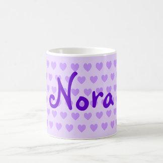 Nora in Purple Coffee Mug
