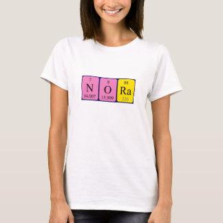 Nora periodic table name shirt