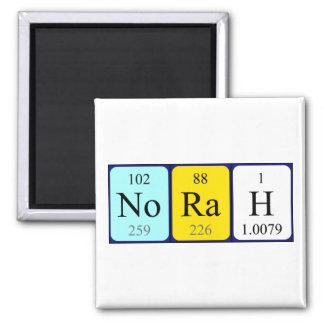 Norah periodic table name magnet