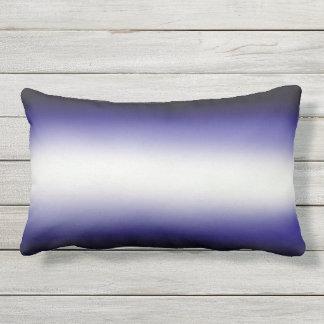 Nordic Blue Black|Blue|White Lumbar Pillow