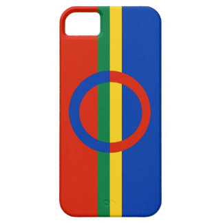 Nordic Circle Red Blue On Color Stripe iPhone 5 iPhone 5 Cover