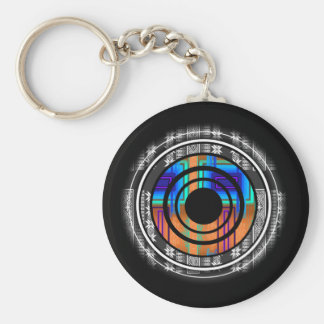 Nordic Future Monogram Keychain