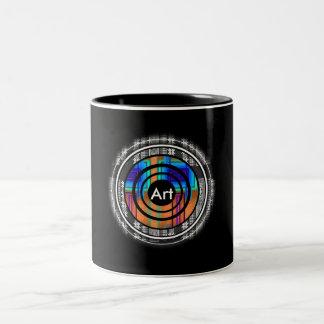 Nordic Future Monogram Two-Tone Coffee Mug