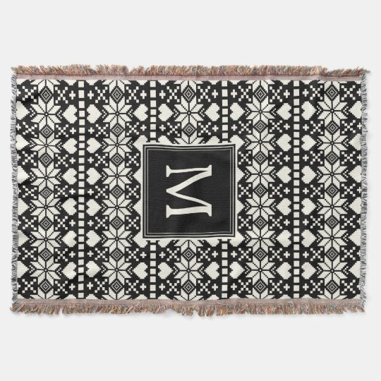 Nordic | Holiday Throw Blanket