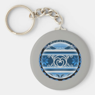 Nordic North Christmas Keychain