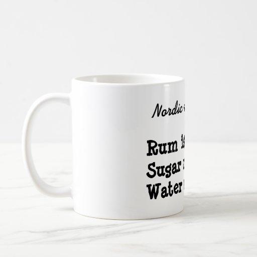 Nordic recipe mug