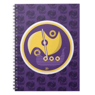 Nordic Voyage - Spiral Notebook